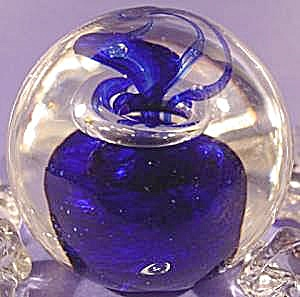 Glass Paperweight - Controlled Bubble - Sabina Rymanow