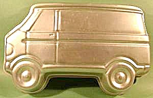 Wilton Cake Pan Mold - 1978 Van Car
