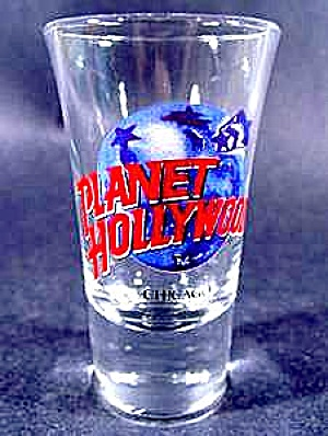 Planet Hollywood Shot Glass ~ Chicago (Image1)