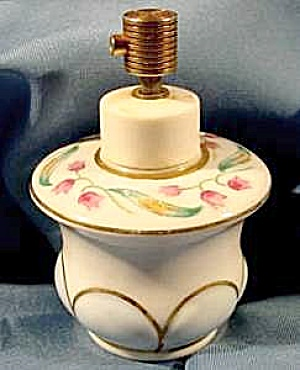 Hand Painted Porcelain Scent Perfume Bottle - Rice