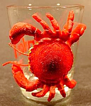 Maryland Shot Glass - Crab Attached - Must See