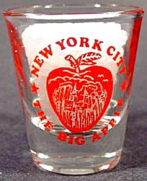 I Love New York Shot Glass - The Big Apple