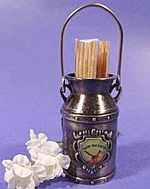 Milk Pail Toothpick Holder - New Mexico
