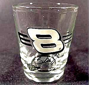 Dale Earnhardt Jr Shot Glass ~ 8 (Image1)