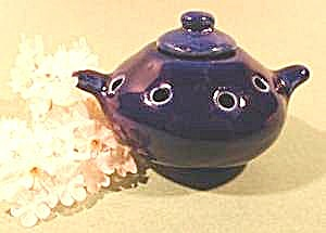 Cobalt Blue Oriental Incense Censer Burner - Porcelain (Image1)
