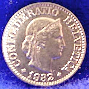 Switzerland Coin - 10 Centimes - 1932