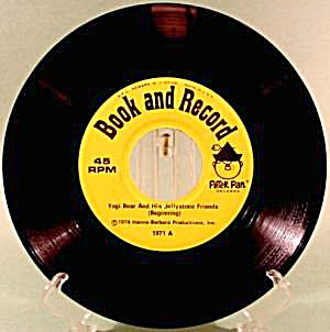 Yogi Bear - Peter Pan Label