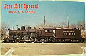 Boot Hill Special No. 1139 Train ~ Postcard (Image1)