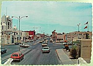 Downtown Carlsbad, New Mexico Postcard ~ 1960's (Image1)