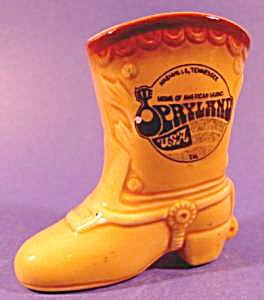 Ceramic Shoe Boot Souvenir - Opryland USA (Image1)