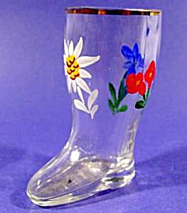 Hand Painted Shoe Boot Shot Glass (Image1)