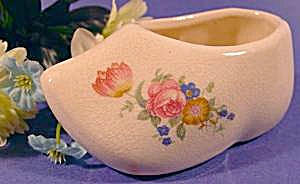 Ceramic Dutch Clog Shoe - Vintage