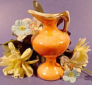 Miniature Ewer Pitcher - Luster With Gold Trim