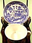Blue Willow Oriental Miniature Cup and saucer - Japan (Image1)