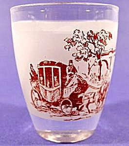 Horse and Carriage Shot Glass (Image1)