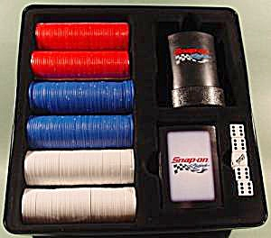 Snap-On Racing Game Poker Set in Tin (Image1)