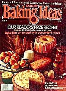 Better Homes & Gardens - Baking Ideas - 1977