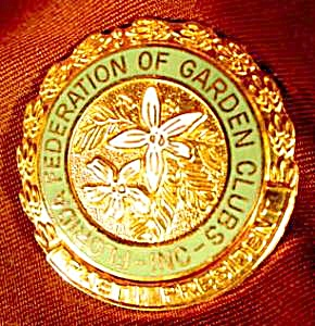 Florida Federation Of Garden Clubs Pin - Past President