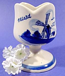 Holland Windmill Egg Cup - Hand Painted