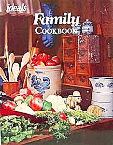 Ideals Family Cookbook - 1972