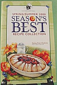 Season's Best Recipe Collection Cookbook - 2000