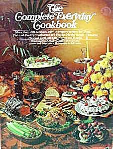 The Complete Everyday Cookbook - 1971