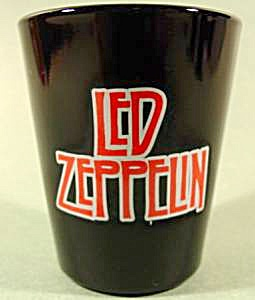 LED ZEPPELIN Shot Glass ~ 2006 (Image1)