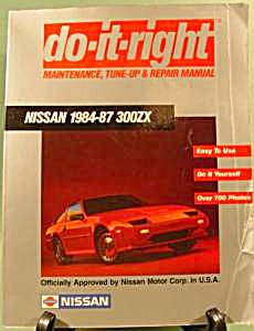 NISSAN 300ZX Manual - 1984-87 (Image1)