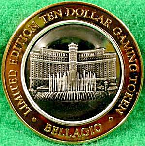 BELLAGIO and FOUNTAIN $10 Silver Strike (Image1)