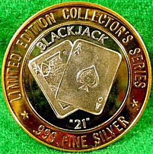 GRAND CASINO $10 Silver Strike - BLACKJACK (Image1)