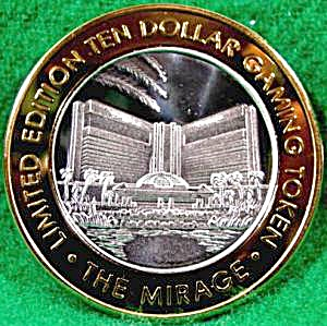 THE MIRAGE Casino Ten Dollar .999 Silver Strike (Image1)