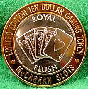 McCarran Slots and Royal Flush .999 Silver Strike (Image1)