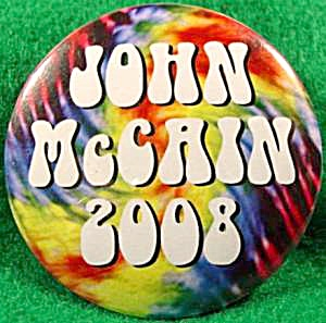 McCain Political Campaign Button - 2008 (Image1)