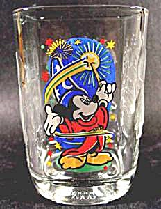 Disney World - EPCOT Glass - Mickey Mouse - 2000 (Image1)