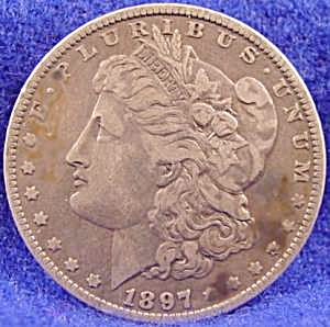 Morgan Type Silver Dollar - 1897 - O