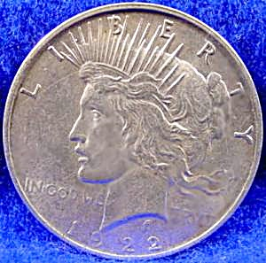 Peace Silver Dollar Coin - 1922-D (Image1)
