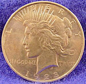 Peace Silver Dollar Coin - 1923-d