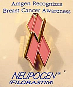 Breast Cancer Lapel Tie Pin