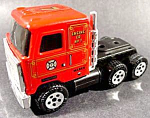 Diecast Buddy L Mack Fire Engine Tractor - 1989 (Image1)