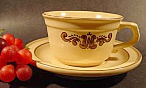 Pfaltzgraff Village Cup and Saucer Set - Retired Patt (Image1)