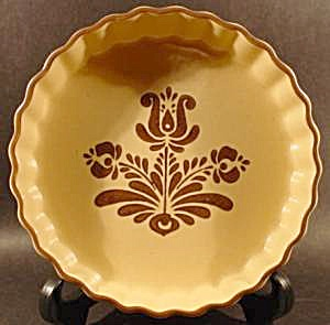 Pfaltzgraff Village Quiche Bowl Pie Plate (Image1)