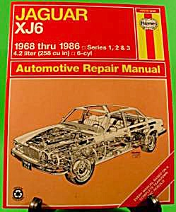 Jaguar XJ6 Automotive Repair Manual 1968 thru 1986 (Image1)