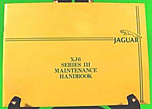 Jaguar Xj6 Series Iii Maintenance Manual