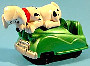 102 Dalmatians - Dog On Hood Of Car - 2000 - Mip
