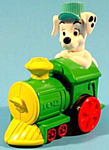 102 Dalmatian Dog On Train Engine - Mip