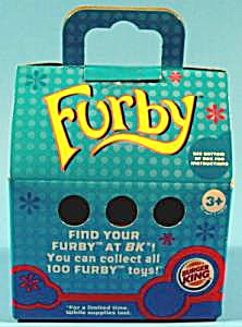 Hasbro 2005 - Furby Toy - Burger King - Mib