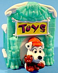 102 Dalmatian - In Toy House With Teddy Bear - Mip