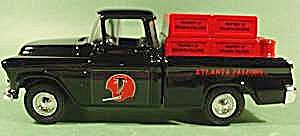 Atlanta Falcons Diecast Metal Bank - Chevy Pickup Truck