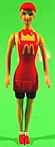 Mcdonald's Barbie Doll Waitress - 2001 - Np