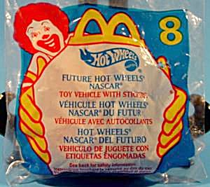 Future Hot Wheels Nascar #8 - 1999 - Mcdonalds - Mip